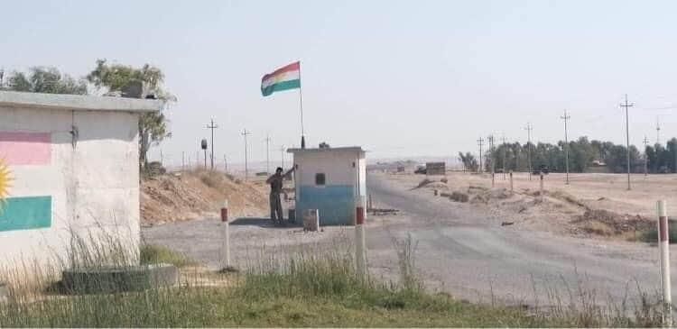 سبع ضحايا وجريحان واحراق نقطة أمنية بهجوم داعش على البيشمركة بكركوك
