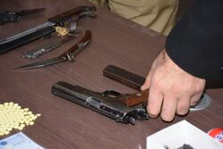 مشاجرة بالسكاكين بين محتجين في محافظة عراقية