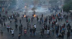 حقوق الانسان: 1366 قتيلا وجريحا باحتجاجات العراق وتوقيف 272
