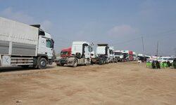 السلطات الامنية تقرر منع سير عجلات الحمل في طريق بغداد - ديالى