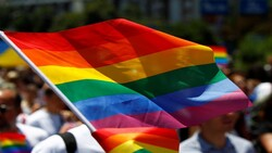 Gay flag raised in the capital Baghdad