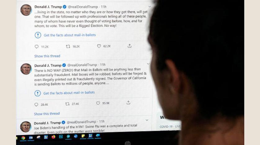 """قراءة بقرار ترامب """"خنق"""" التواصل الاجتماعي"""