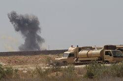 Rocket attack hits American military base near Baghdad