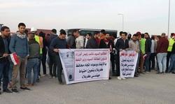 صور.. موظفون وطلبة في كربلاء وميسان ينضمون للاضراب