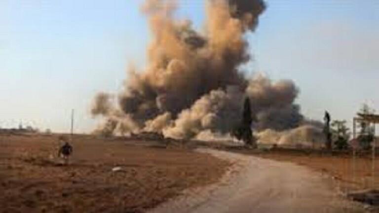 الأمريكان يدمرون قاعدة بعد الانسحاب منها في مدينة كوردية بسوريا