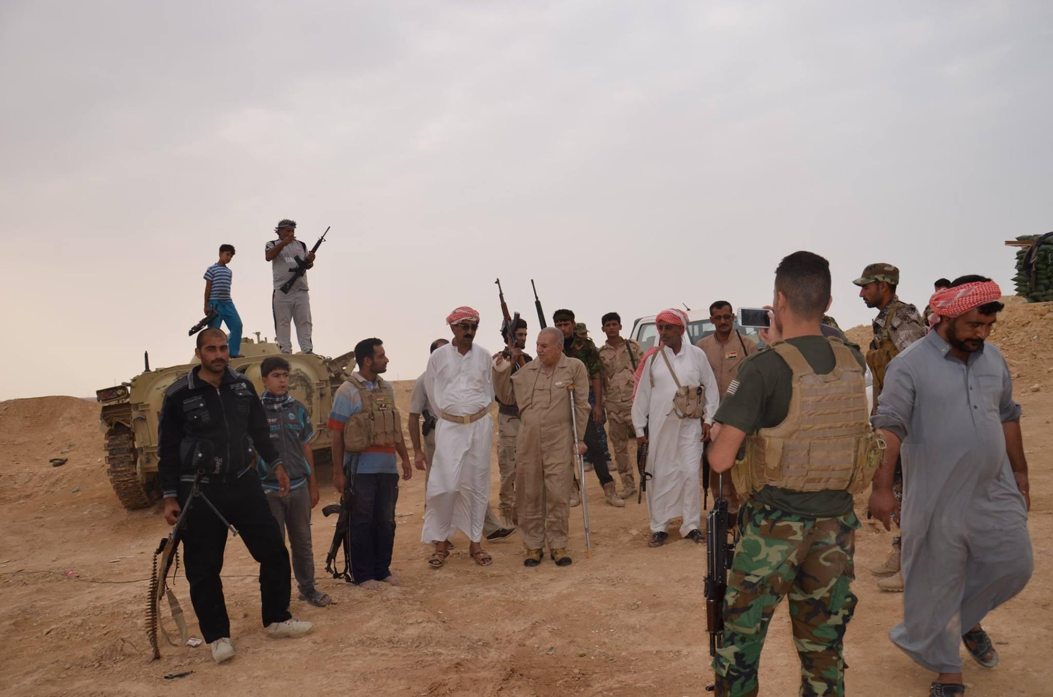 هجوم لداعش يودي بحياة مقاتلين سنة مناهضين للتنظيم شمالي بغداد