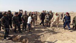 حقوق الانسان تعلن تفاصيل جديدة عن جثث بابل