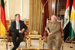 بارزاني يناقش مع السفير الالماني الجديد تأثيرات مقتل البغدادي على الاوضاع في المنطقة