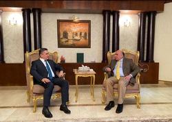 الزرفي يجري اولى المباحثات الخاصة باقليم كوردستان