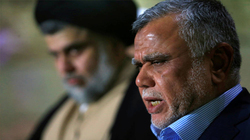 الصدر يدعو العامري للتعاون بسحب الثقة عن عبد المهدي