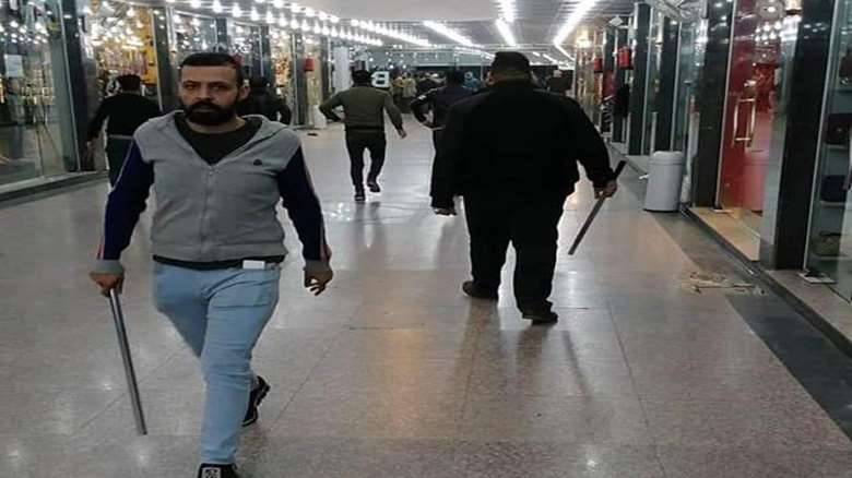"""After a chaotic night.. Karbala police issue an explanation about the protests and threaten to respond to """"saboteurs"""""""