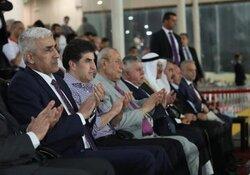 رئيس اقليم كوردستان يتحمل نفقات المنتخبات المشاركة في المجموعة الثانية