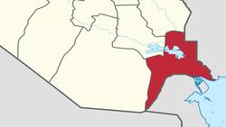 محتجون يغلقون طريق حقل نفطي جنوبي العراق