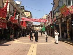 متظاهرون حاولوا دخول منطقة المراجع في النجف وعبد المهدي يفشل بتطويق الازمة بالعشائر