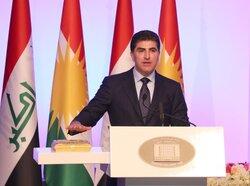 برلمان كوردستان يصدر توضيحا حول عدم عزف النشيد الوطني العراقي بتنصيب بارزاني