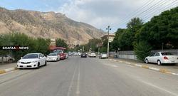 إقليم كوردستان يتعرض لموجة من الأمطار وتساقط الثلوج