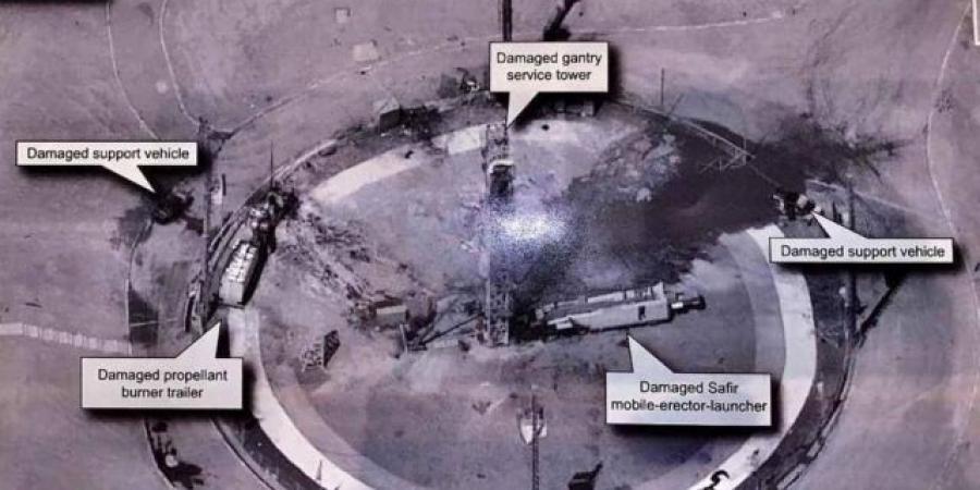 إيران تقر للمرة الأولى بانفجار وقع أثناء عملية إطلاق قمر صناعي