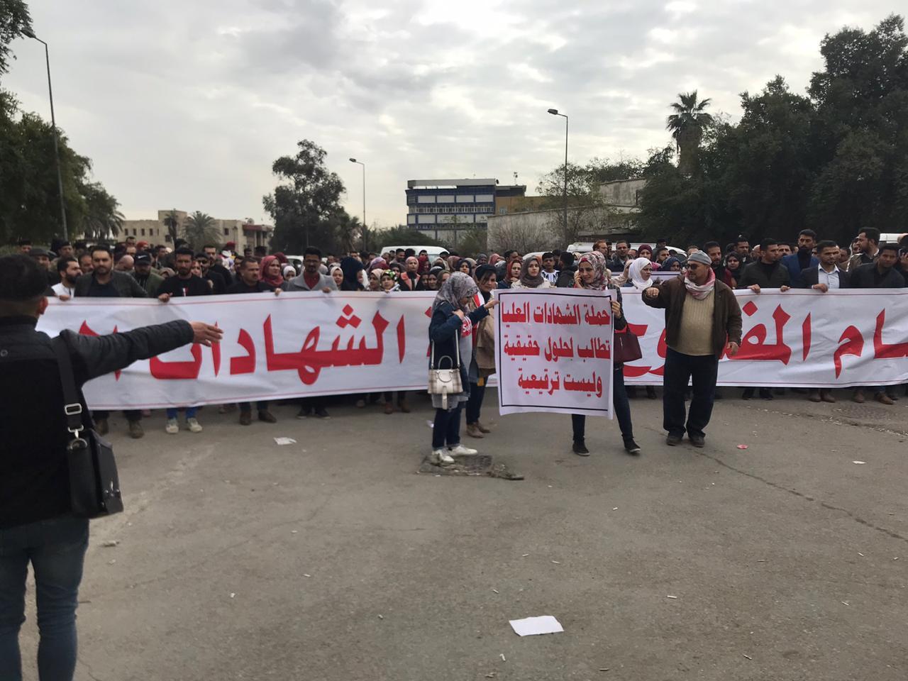 Postgraduates back to protests