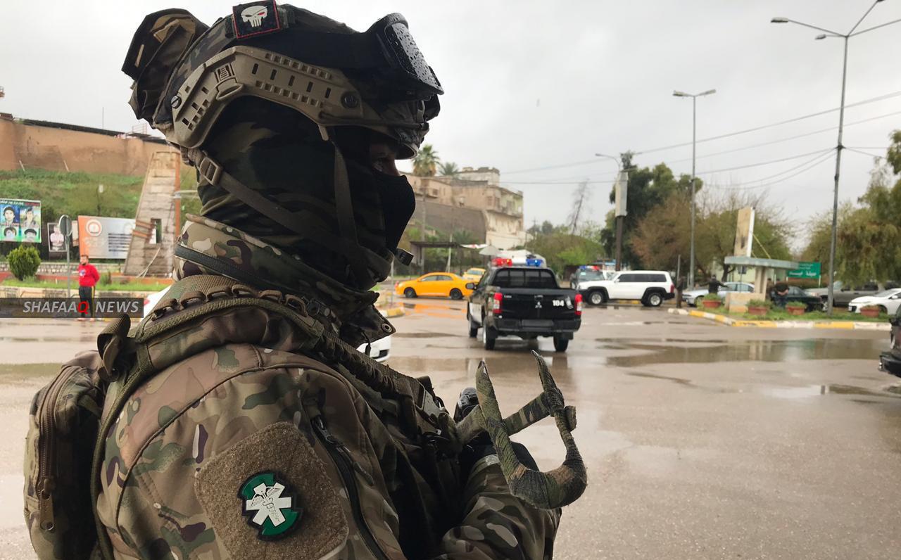 """احباط عملية """"ارهابية"""" بعجلة مفخخة بصاروخين في كركوك"""