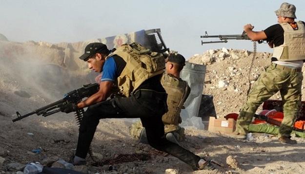 الحشد الشعبي يتعرض لهجوم من داعش في صلاح الدين