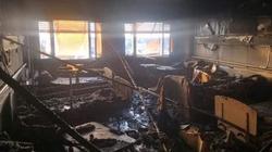 المثنى تتعهد بعقوبات قاسية بحق المتسببين في حريق راح ضحيته العشرات