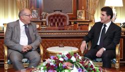 وزير الخارجية اليوناني يزور كوردستان على رأس وفد اقتصادي