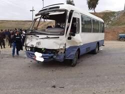 صور .. مصرع واصابة 16 شخصا بحادث سير مروع قرب السليمانية