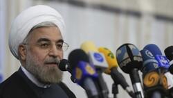 """روحاني يعلق على """"صفقة القرن"""" ويفتح باب الحوار مع امريكا بشرط"""