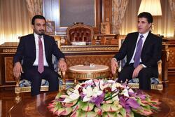 رئيس اقليم كوردستان يجتمع مع الحلبوسي في بغداد