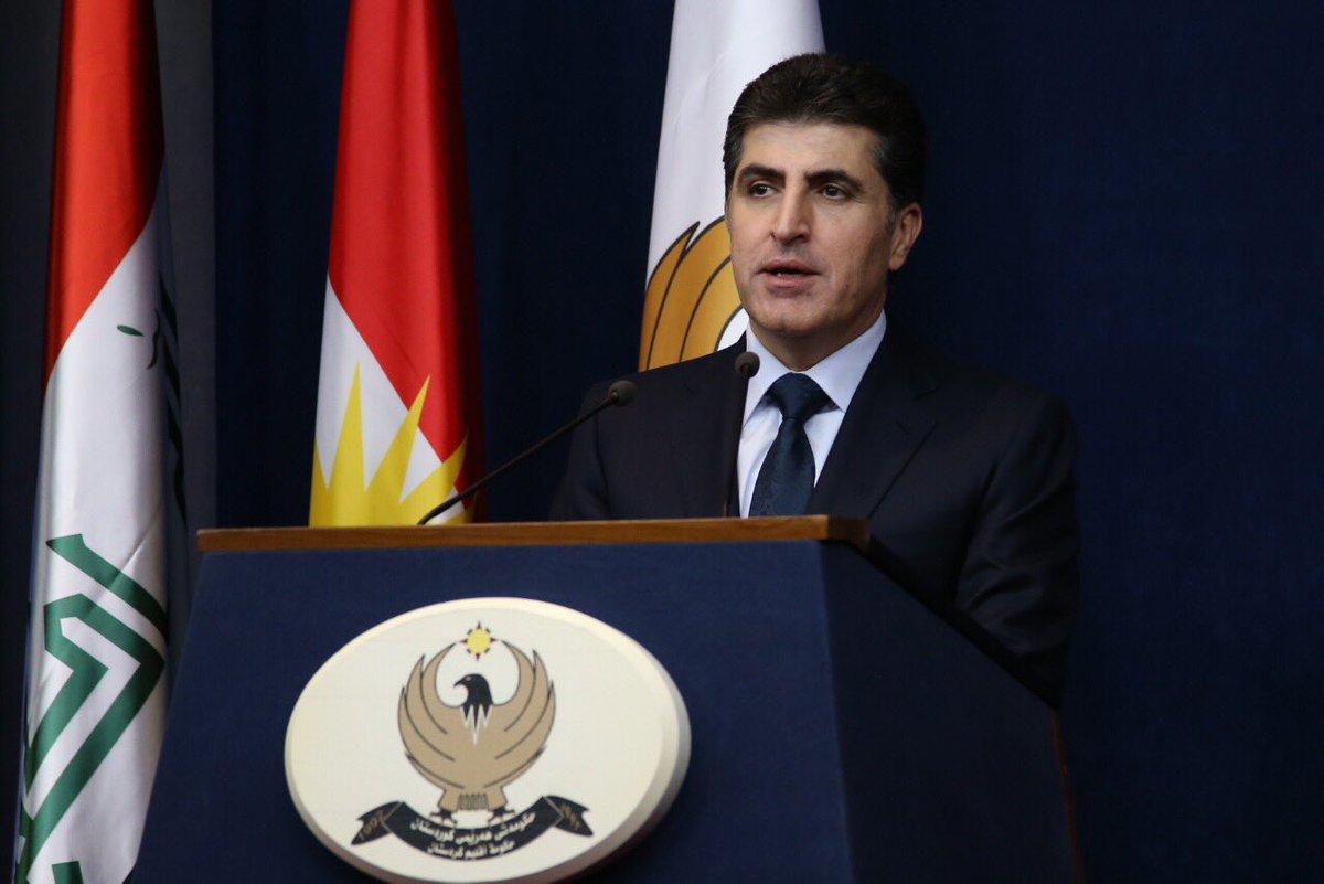 رئيس اقليم كوردستان يصل الى بغداد ويجتمع مع الرئاسات الثلاث