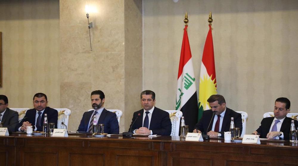 بارزاني: فرصة لإقليم كوردستان ليكون مركزاً تجارياً في العراق والمنطقة