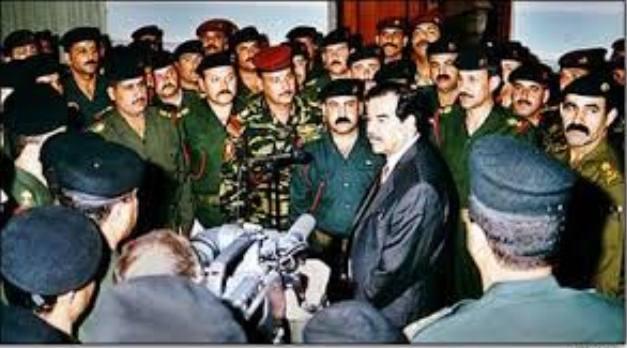 اطلاق سراح قائد حرس صدام حسين