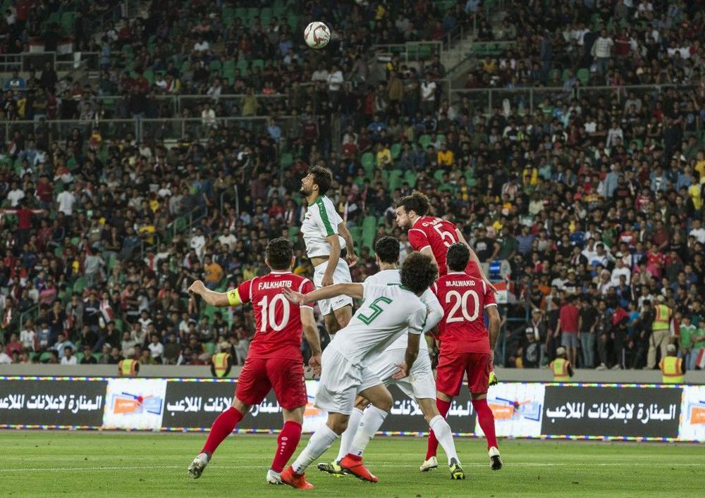 العراق يفوز على هونغ كونغ بثنائية نظيفة بتصفيات كأس العالم