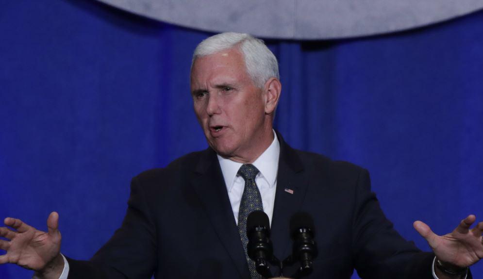 U.S. Vice President arrives Baghdad