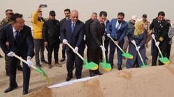 العراق يضع حجر الأساس لأول نفق تحت الماء