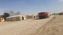 قصف صاروخي يستهدف معسكرا في بغداد