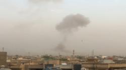 دوي انفجارات في معسكر ببغداد وتصاعد لاعمدة الدخان