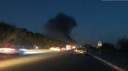 Clashes between protestors and Security forces in Najaf
