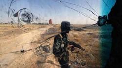 تصاعد اعمدة الدخان بعد انفجار داخل قاعدة عسكرية  في العراق