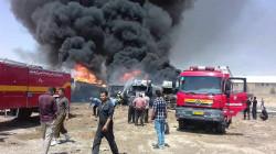 A massive explosion in Kermanshah
