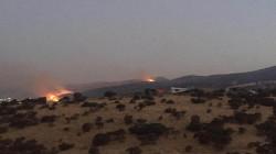 صور .. حريق كبير استمر لمدة 10 ساعات يلتهم 12 الف دونم بالسليمانية