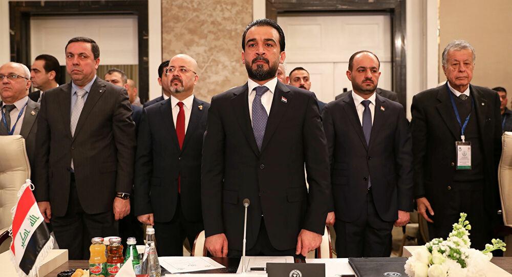 الحلبوسي يصل مصر في زيارة رسمية