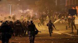 مصادمات بين محتجين والأمن اللبناني