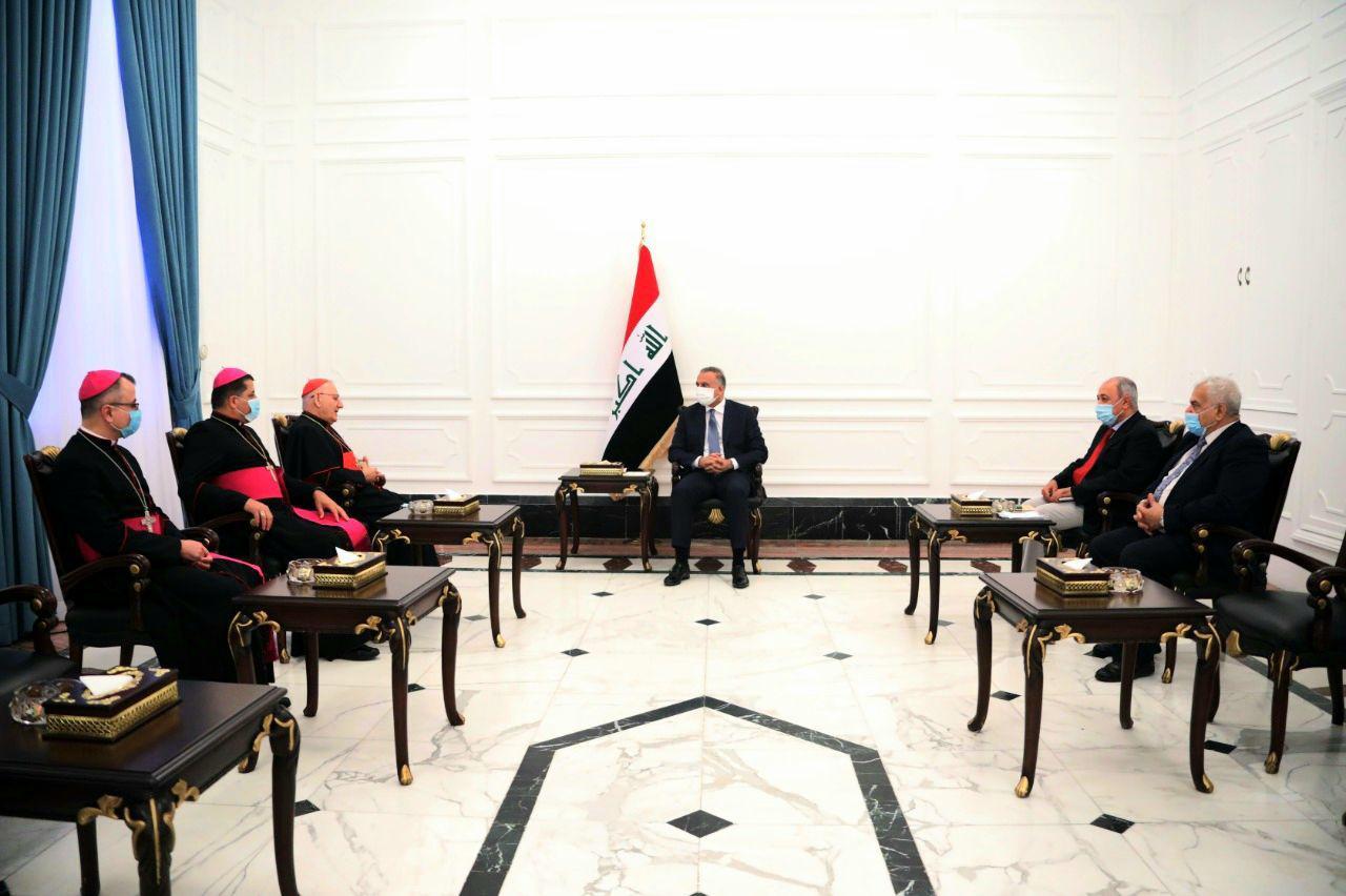 البطريرك ساكو: مسيحيون يشعرون بالاطمئنان بظل حكومة الكاظمي ويرغبون بالعودة