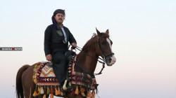 صور.. شرطي كركوكي يجول بهوايته الملكية إلى الإحترافية