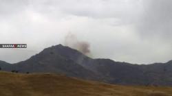 الجيش التركي يفتح النار على 3 قرى شمالي أربيل