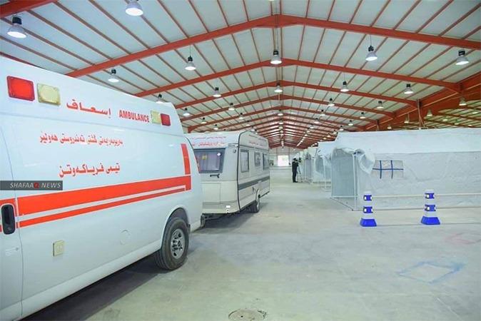 Covid-19:  569 new cases in Kurdistan today