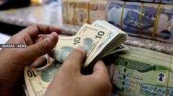 ارتفاع طفيف باسعار صرف الدولار في بغداد وكوردستان