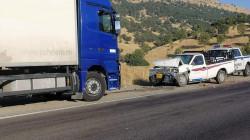 إصابة 12 شخصا بجروح في حادث بالسليمانية