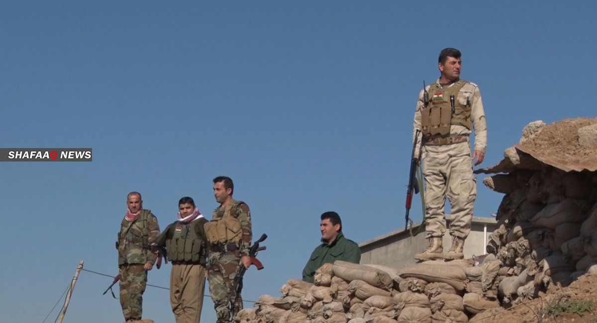 A Kurdish force deploys in Kirkuk for the first time since 2017
